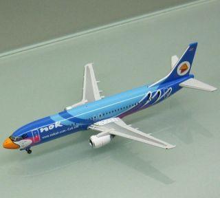 Phoenix 1/400 Nok Air Thailand 737 400 Blue Bird HS DDM