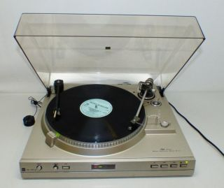 DUAL CS 728Q Vintage Automatic DD Turntable silber Ortofon TKS55E