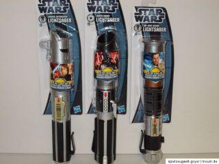 Star Wars ** Lightsaber Lichtschwert Anakin   OBI WAN   Darth Vader
