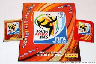 Panini WC WM 2010 South Africa – 1 x Leeralbum EMPTY ALBUM