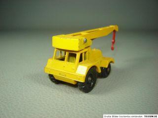 Jumbo Crane Matchbox Modell 11 Serie 1 75 Kranwagen Mobilkran Autokran