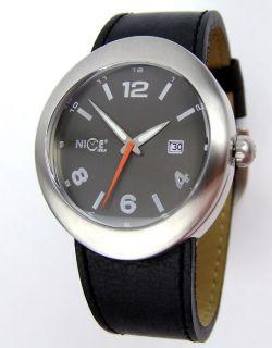 NICE ITALY ROUND Damenuhr XXL Armbanduhr WA4301GS01