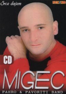 MIGEC CD Srce dajem Folk Muzika Renome NOVO