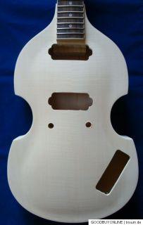 String Gitarren Bausatz Kit , Violin style, wie Beatles Bass aber 6