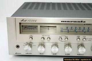 MARANTZ 1550L   WM/LW/FM Stereo Receiver Verstärker Rarität