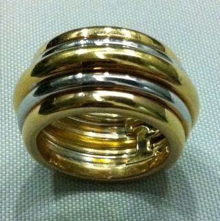 Piaget Possession Ring 18k 750 Gold 20grams Rare Ring Size 53
