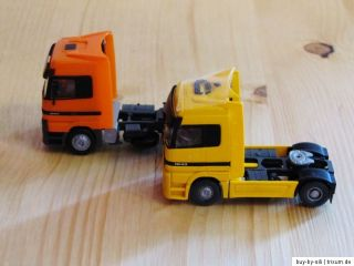 WIKING & HERPA 2 MB Truck LKW Zugmaschine 187 H0 MERCEDES BENZ Actros