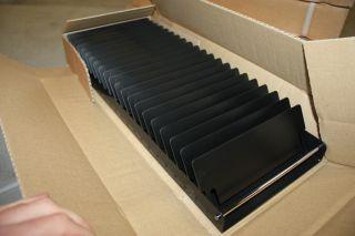 Original USM Haller DVD CD Medien Einsatz fuer 50er Schublade Auszug