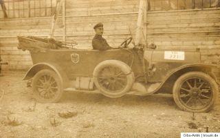AK WK 1 Geländewagen mit Kennung VIII 771, blanco, ca.1916