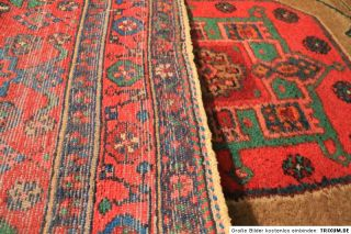 Antik Handgeknüpfter Perser Teppich Malayer Kurde Iran Tappeto