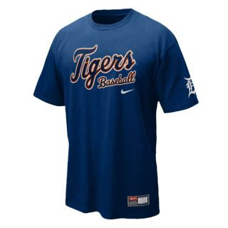 Shirt NIKE   Detroit TIGERS   NEU   Practice   Official MLB