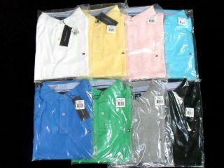 Tommy Hilfiger Polo Shirt Gr. S M L XL XXL Hemd 8 Farben NEU&OVP