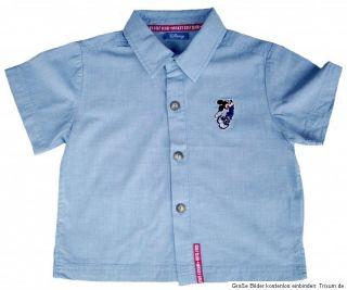 NEU Mickey Mouse Hemd Kurzarm Golf Club blau 92 122
