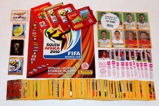 Panini WM 2010 South Africa – RARE SWISS VERSION – COMPLETE SET
