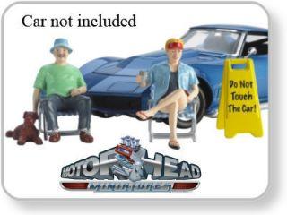 Motorhead Miniatures THE CAR SHOW #795 124 Scale Model diorama