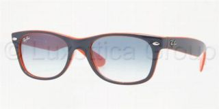 Ray Ban Sonnenbrille RB 2132 Top Blue Orange/ Light Blu