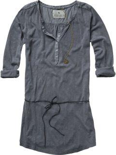 Maison Scotch Shirt Top 12210150844   Long grandad tunica grey grau