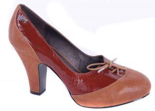 Miss Sixty Pumps High Heels Pumps Braun Gr. 40 #20