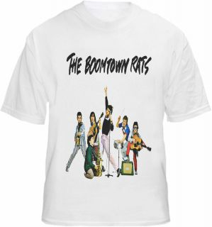 Boomtown Rats T shirt Tonic Music Tee