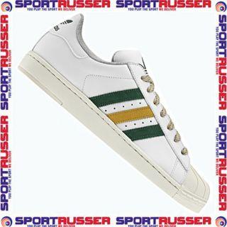 Adidas Superstar 2 Lite white/green/gold