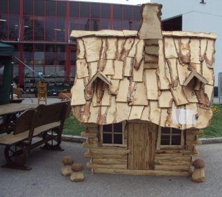 Kinder Spielha us , Spielha us, Baba Jagas Hexenhaus aus Holz