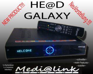 Head Medialink Galaxy 1xCI 1xCard HDTV 1080P USB PVR ( Black Panther