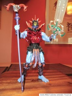 Masters of the Universe MOTU 200x Battle Sound Skeletor   Sammlerfigur