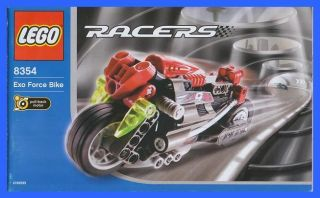 8354 Racers Technic Technik Exo Force Bike Motorrad * 785
