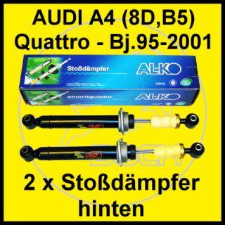 Stoßdämpfer hinten AUDI A4 Quattro 8D B5 Limo+Avant