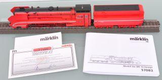 Märklin 37082 Stromlinien Dampflok mit Tender / Digital / Sound / MHI