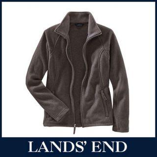 LANDS END Damen ThermaCheck 200 Fleecejacke Damenjacke Jacke Fleece