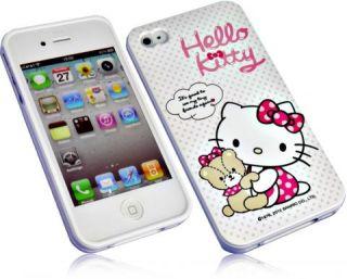 Hello Kitty für Iphone 4 4S Silikon Case Handy Tasche Schutzhülle