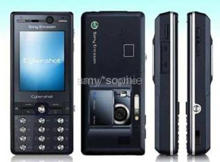 New Black SONY ERICSSON K810i 3.2MP Mobile Phone