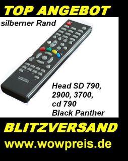 HEAD SD 790 2700 2900 3700 Black Panther Fernbedienung SONERANGEBOT