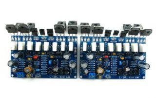L20 Audio power amplifier Kit 2pcs 350W+350W B817 D1047