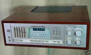 Top Marantz SR 820 DC Hifi Stereo Receiver im Woodcase