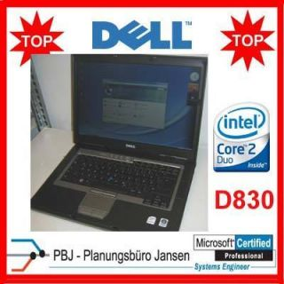 DELL LATITUDE D830 LAPTOP 15,4 CORE2DUO T7500 2x2,2 GHZ Windows 7