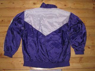 Trainingsanzug Jacke Hose Vintage Bad Taste Nylon 42 M