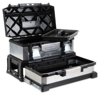 Stanley Werkzeugbox Metall Kunststoff mit Schublade 1 95 830