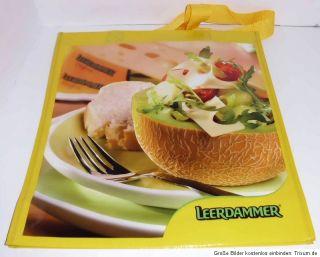 Leerdammer Käse Tasche Einkaufen Werbung Reklame Shopping Werbetasche