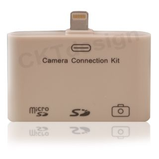 No301 KARTENLESER FueR iPad 4 MiNi LIGHTNING CAMERA CONNECTION KIT