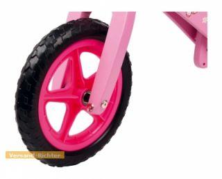 Laufrad aus Holz, Holzlaufrad, Hello Kitty rosa