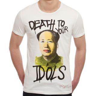 Barrio Santo T Shirt Männer   Herren Shirt   Idols   Weiß