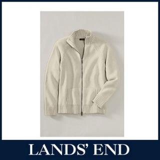 LANDS END Damen Strickjacke Cardigan Jacke Damenjacke Baumwolle *Sale