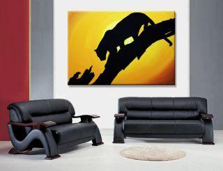 Africa Leopard Afrika Bilder Modern POP ART Galerie Bild Handgemalt