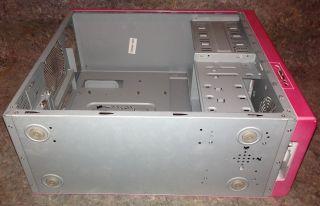 ATX PC Gehäuse Midi Tower Pink (für Mädchen) 4x 5 1/4, 6x 3 1/2