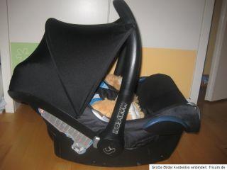Maxi Cosi Cabrio Fix Babyschale Kindersitz Maxi Cosi CabrioFix Black