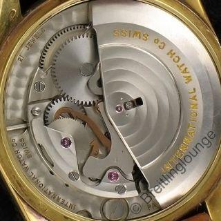 Uhr in 18 Kt Gold AUTOMATIC mit dem Kaliber 853.1 aus 1962