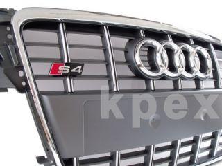 Audi S4 B8 Kühlergrill Titanium 8K A4 S Line Grill Grille Bumper