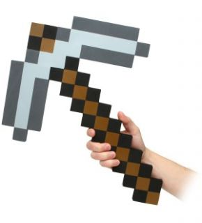 Minecraft Foam Pickaxe *New*